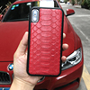 Luxury Genuine Python Skin Snake Design Leather Case For IPhone 7 6 6S Plus 5 5S