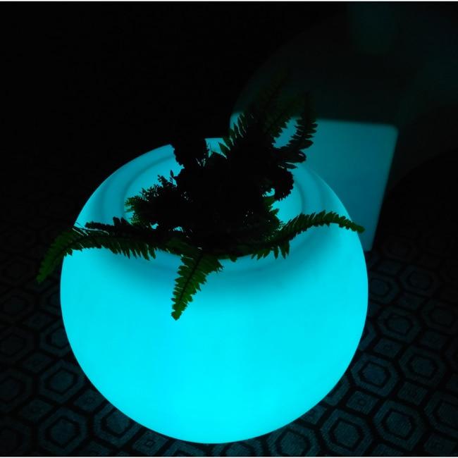 D20 * D13 * H15cm түрлі-түсті жарықдиодты - Түнгі жарық - фото 3