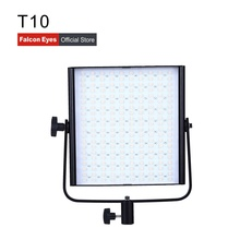 Falcon Eyes 40W Bi-Color LED Video Studio Fotografia Panel Light Continuous Mini Lamp Portable Dimmable Lighting On Camera T10