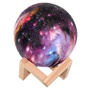 Image 5 - USB Recharge Colorful 3D Starry Sky Moonlight Touch Control LED Night Light for Christmas Birthday Gift Home Decor Drop Shipping