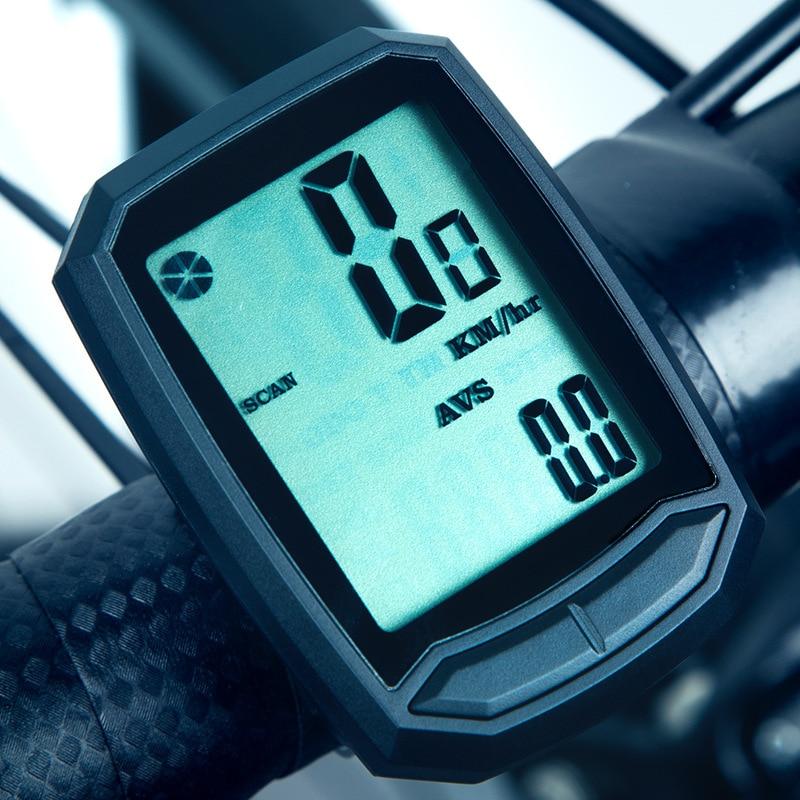 INBIKE Беспроводной 2.0 ''Подсветка Экран велосипед спидометр Водонепроницаемый проводной обновлен Велоспорт секундомер MTB дорожный велосипед ...