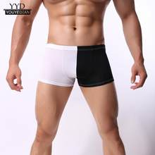 789567a01f35d Sous-vêtements sexy pour homme Shorts Slip Étui Souple culotte respirante  gay boxer sous-vêtements pour homme caleçon hommes lin.