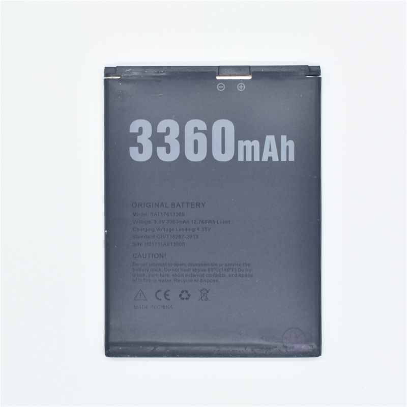 Hekiy Mobile phone <font><b>battery</b></font> for DOOGEE BAT17613360 <font><b>X30</b></font> <font><b>battery</b></font> <font><b>X30</b></font> 5.5inch 3360mAh High capacit <font><b>battery</b></font> DOOGEE Mobile Accessories image