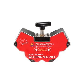 ON SALE MWC4M Switchable Multi-angle Welding Angle Magnets/Strong Neodymium Magnet Welding Holder for Angle Tools