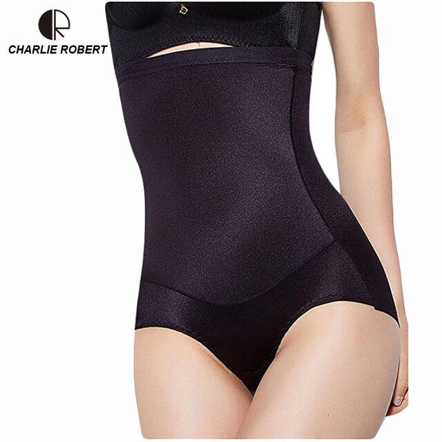 cba636cd2645e Women High Waist Body Shaper Panties seamless tummy Belly Control Waist  Slimming Pants Shapewear Girdle Underwear Waist Trainer