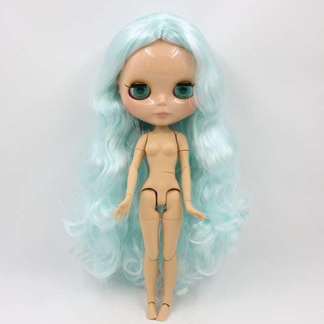ICY Neo Blythe Doll Pale Blue Hair Jointed Body