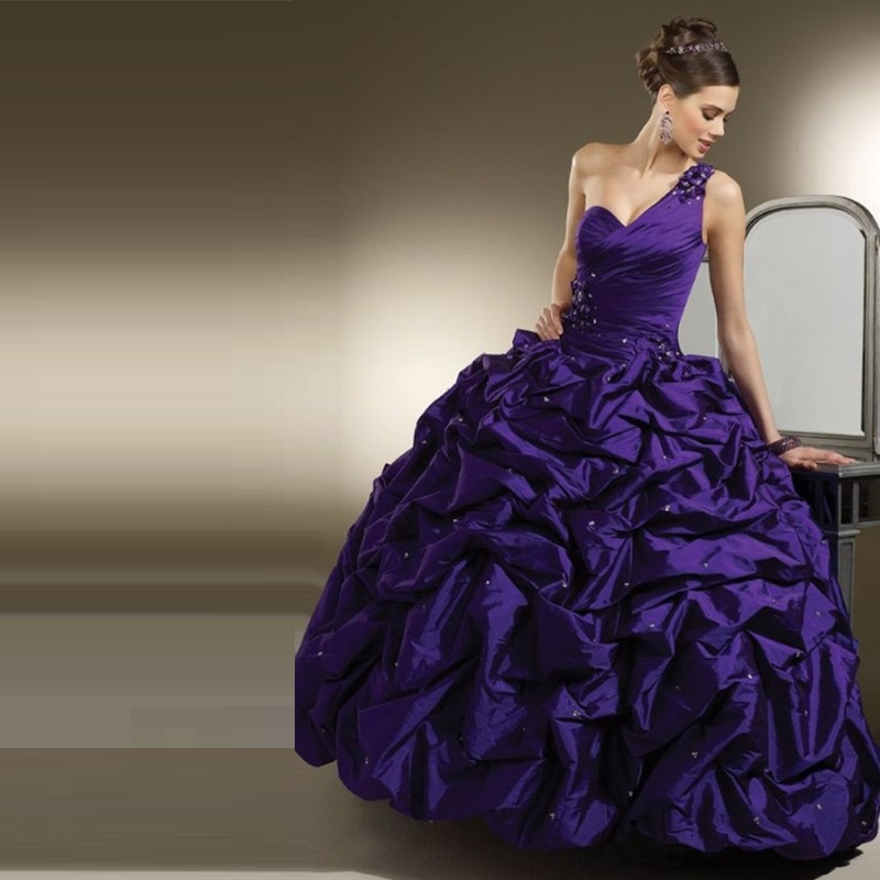 Popular Dark Purple Quinceanera Dresses-Buy Cheap Dark Purple ...