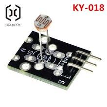 3pin KY-018 оптический чувствительный светильник сопротивления обнаружения светочувствительный сенсор модуль для arduino DIY Kit