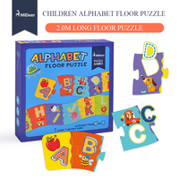 Mideer 2.0M Alphabet Cognition Long Flooring Puzzle chunks puzzle Paper Puzzle early education enlightenment puzzle toys
