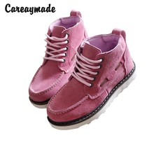 New 2016,Genuine leather shoes,Pure handmade flats shoes,The retro art mori girl shoes, Retro Nubuck leather shoes,7 color