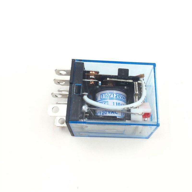 Универсальное Магнитное реле LY2NJ HH62P, электронное микро-электромагнитное светодиодный ле, светодиодная лампа 10 А, 8 контактов, катушка DPDT, 12 В...