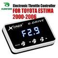 Elektroniczny regulator przepustnicy Racing akcelerator wspomagacz TOYOTA ESTIMA 2000 2006 części do tuningu akcesoria w Elektronicznie sterowane przepustnice do samochodów od Samochody i motocykle na