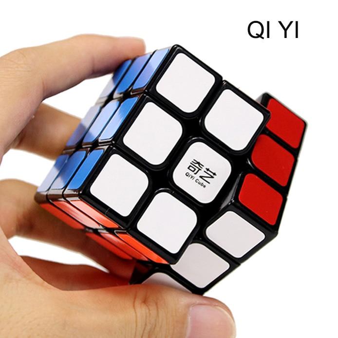QIYI puzzle 3x3x3 Magic Stickers cub Speed Puzzle Cube puzzle - Jocuri și puzzle-uri