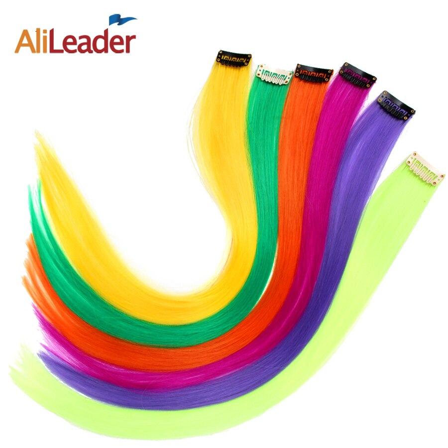 Alileader клип в пряди волос для наращивания 50 см одна деталь прямые Длинные Синтетические шиньоны для женщин обувь девочек 57 цвета 12 г/шт.-in Клипсы-пряди для наращивания волос from Накладные волосы и парики on Aliexpress.com   Alibaba Group