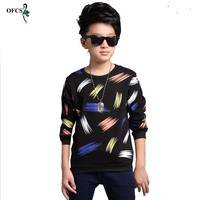 OFCS SIZE 5 15 T New Design Patterns Boys T Shirt Long Sleeve Brand Children S