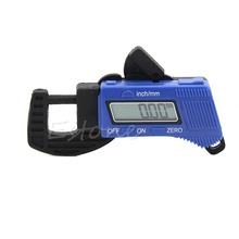 Discount! New 0-12.7mm Carbon Fiber Composites Digital Thickness Caliper Micrometer Guage -Y103