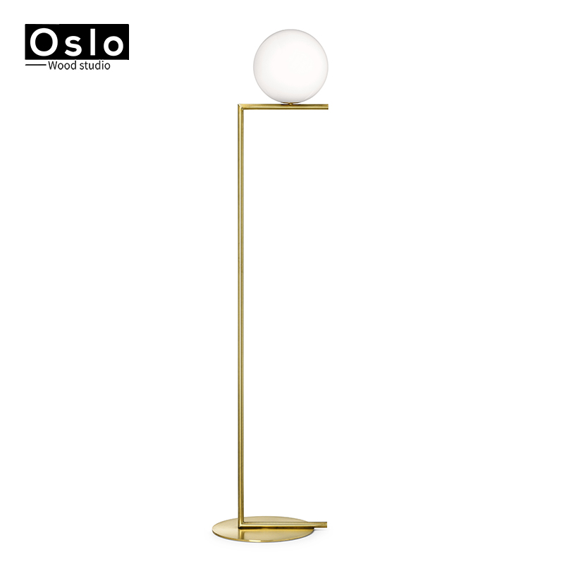 Copper Modern Simple Gold Floor Lamps