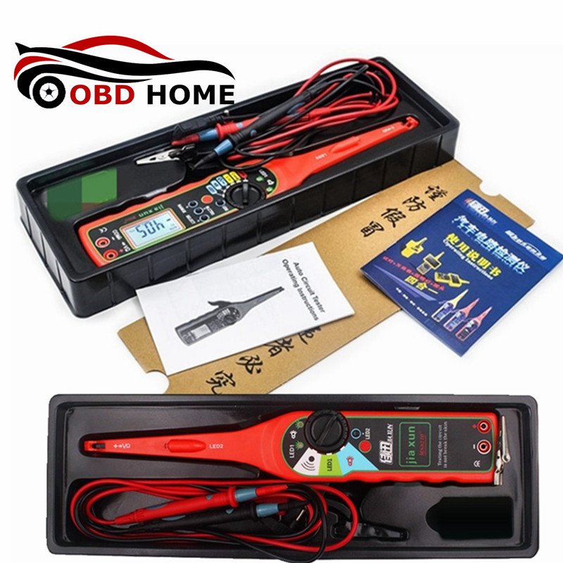 MS8210 MS8211 Multi function Auto Circuit Tester Multimeter Lamp font b Car b font Repair Automotive