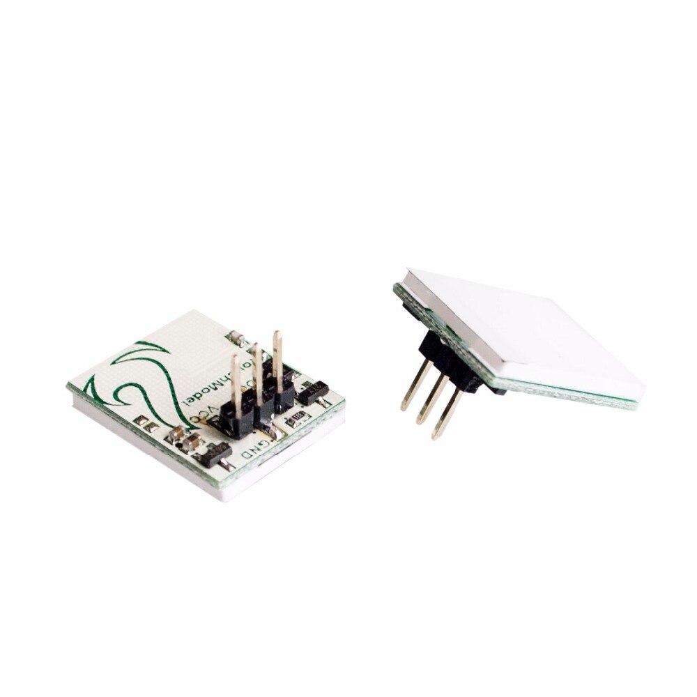 10 шт./лот, емкостный сенсорный кнопочный модуль для Arduino серии повышенной чувствительности синего цвета