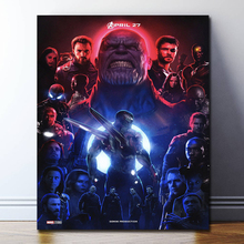 Captain America First Avenger Vintage Marvel Poster Paintings On Canvas Modern Art Decorative Wall Pictures Home Decoration