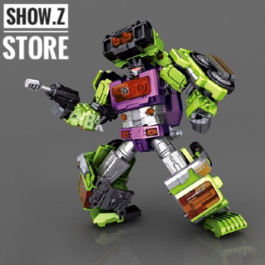 [Show.Z Store] [Pre-Order] NBK NBK-04 Mixer Truck MixMaster Transformation Action Figure managing the store