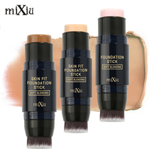 [Rosalind Beauty] MIXIU Face Makeup  Foundation Stick Concealer Creamy Perfect Cover  Oil-control Smooth Base Face