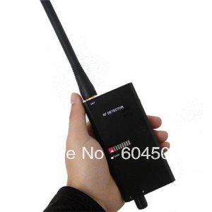 RF Signal Detector for wireless Tap Detector Wired Camera Bug Mobile phone  Camera Lens Sensor Scanner For Security