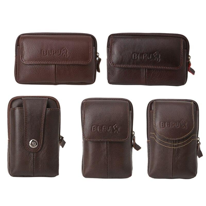 THINKTHENDO Men Waist Bag Small Pack Pouch Money Coin Wallet Pouch Phone Bag Case Travel Bag 2018