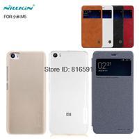 Xiaomi Mi5 Case Nillkin PC Flip TPU Back Cover For Xiaomi M5 Mi5 With Screen Protector