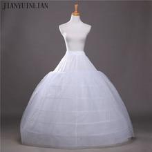 2020 SoDigne Ball Gown Petticoats For Wedding Dresses Elastic 6 Hoops One Tiers Dress Underskirt Crinoline Wedding Accessories