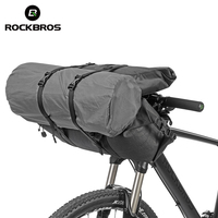 ROCKBROS Waterproof Bicycle Bags Cycling Bike Handlebar Front Frame 2 in 1 Bag Set Large Capacity Pouch Pannier Bike Accessories