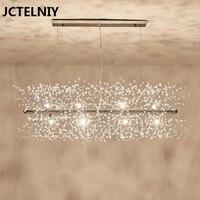 Neue kristall kronleuchter modische und glänzende LED kronleuchter restaurant lampe warme dekoration