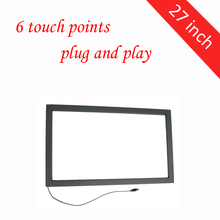 27 inch infrared touch frame screen multi touch 6 points no glass 12 mmbjd sd doll glass eyes unisex 4points 6 points and eight points