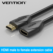 Vention HDMI Extension Cable M/F 1m 1.5m 2m 3m 5m 1080p 1.4v Extender For HD TV LCD Laptop PS3 Projector Computer Cable