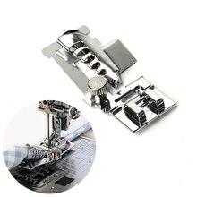 Швейные бытовые машины Регулируемая металлическая рулетка для смещения лапка для подгибания forSinger, Brother, Juki, много швейная машинка для дома(9907