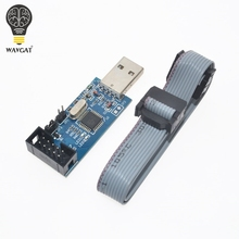1LOT New USBASP USBISP AVR Programmer USB ISP USB ASP ATMEGA8 ATMEGA128 Support Win7 64(China)