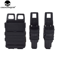 EMERSONGEAR Fast Mag Pistol Magazine Pouch Military Hunting Airsoft Gun Magazine Holster Tactical Plastic Mag Pouch