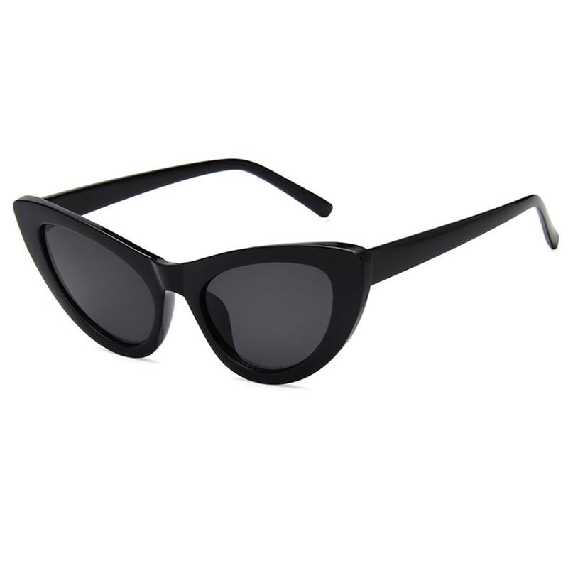 Frauen Cat Eye Sonnenbrille Neue 2019 Mode Europa Und Amerika Retro Großen Rahmen Brillen Grau-spiegel Objektiv Brille L3 Eleganter Auftritt