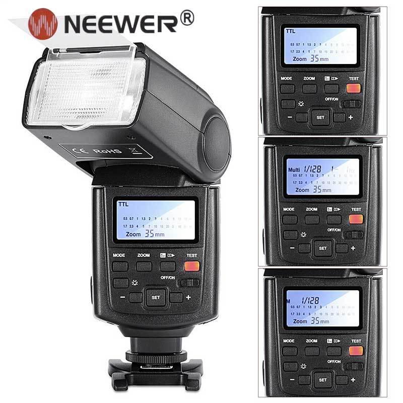 NEEWER NW680/TT680 Вспышка speedlite E TTL Вспышка * Высокая Скорость Синхронизации * для Canon 5D MARK 2 6D 7D 70D 60D 50D T3i T2i