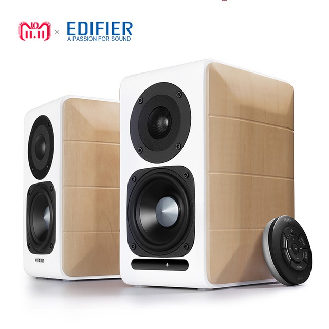 EDIFIER S880DB HIFI Bluetooth Speaker High Quality Full Range Desktop Bookshelf Support Apt X