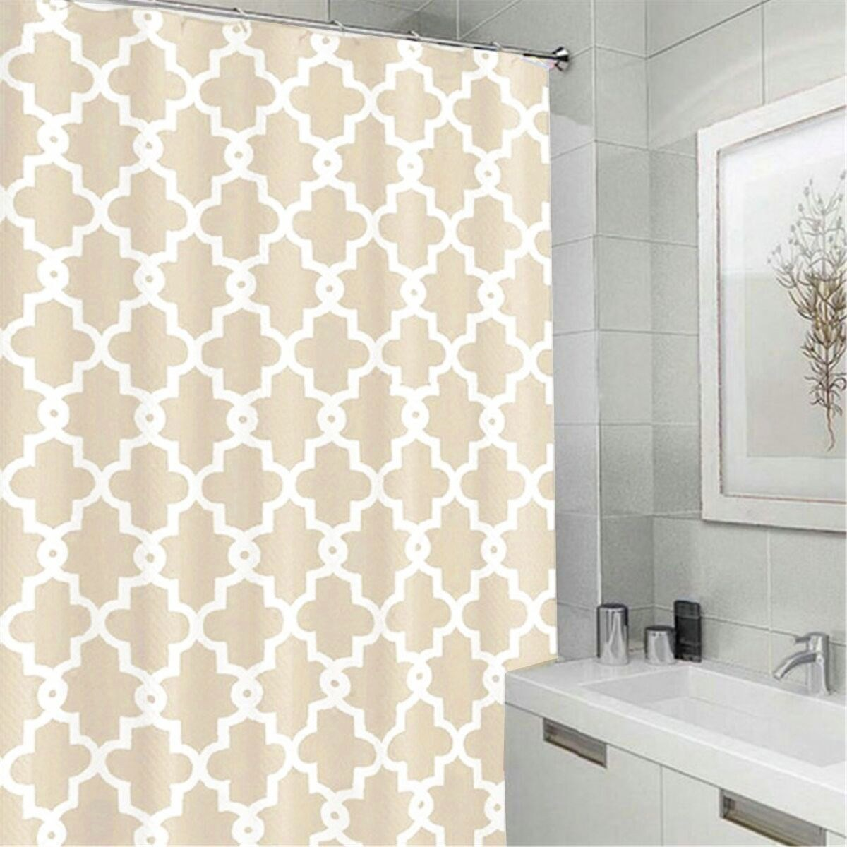 popular geometric design curtainsbuy cheap geometric design  - waterproof polyester geometric shower curtain printed design with  hooksrings mildewproof bathroom products(china