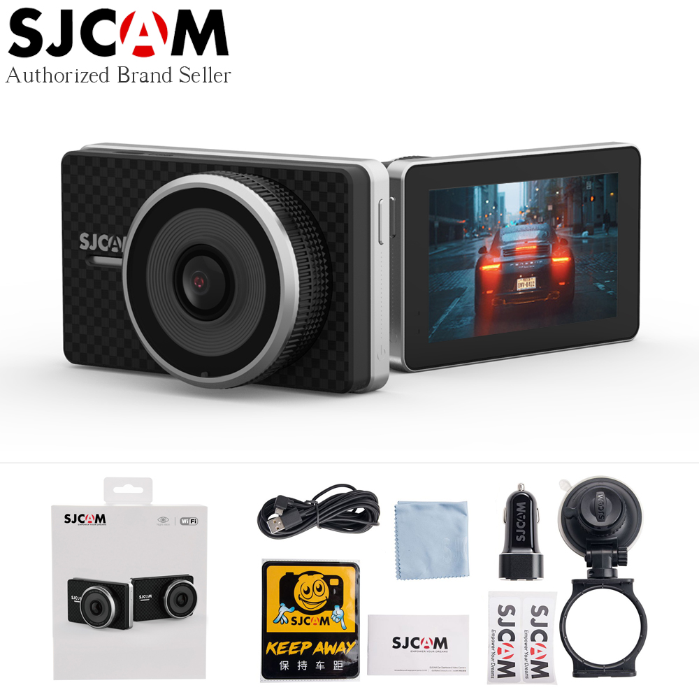 SJCAM SJDASH + тире камера P 1080 P 60fps ADAS приборной панели видео регистраторы gps местоположение Wi Fi WDR ночное видение автомобильный dvr Авто регистрато