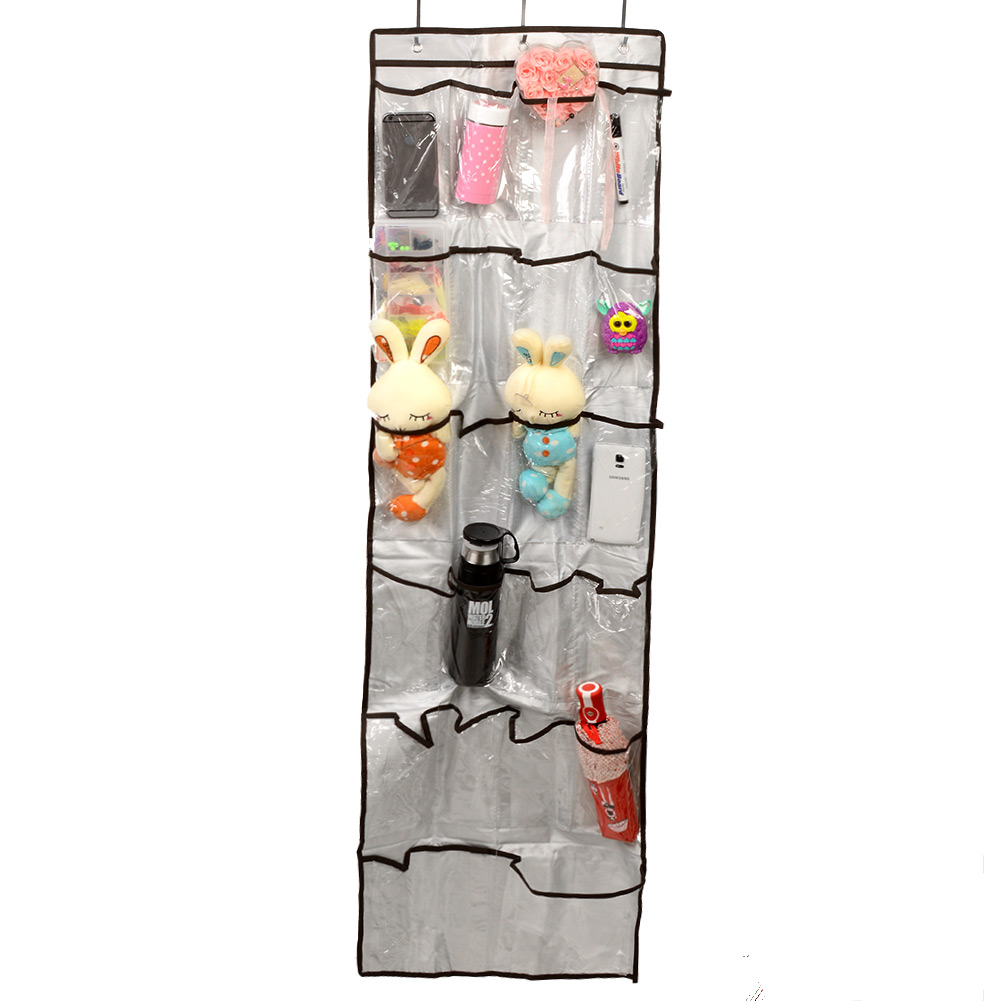 Aliexpress.com : Buy New Pratical Transparent Vinyl 22 Pockets Shoe Storage  Hanging Bag Tidy Sock Toy Organizer Door Holder From Reliable Holder  Microphone ...