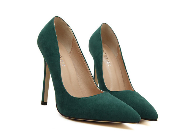 A fashion pointed toe shoes women pumps patent leather footwear women shoes high heels 2015 summer party wedding heeled shoes