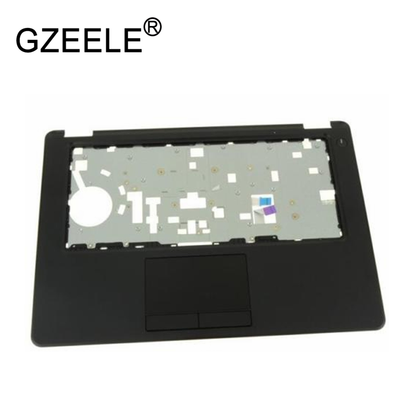 GZEELE NEW FOR Dell Latitude E5450 Palmrest Touchpad Single Point with Smart Card Reader GYFGV UPPER CASE HXCK5 0HXCK5 070VHD цена