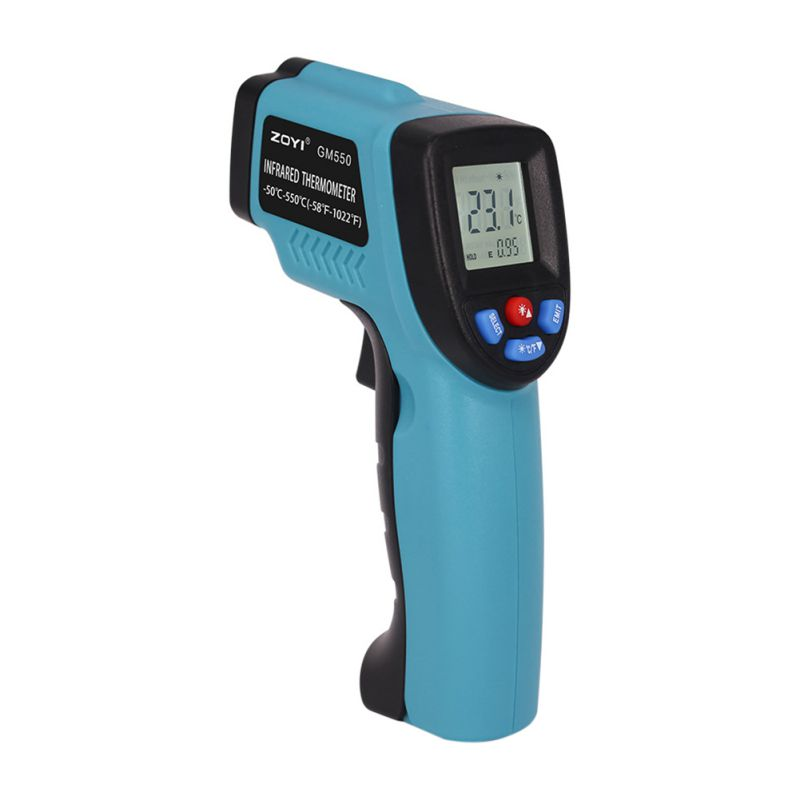 2017 Hot GM550 -50~550 C Digital infrared Thermometer laser Temperature Gun Pyrometer Aquarium