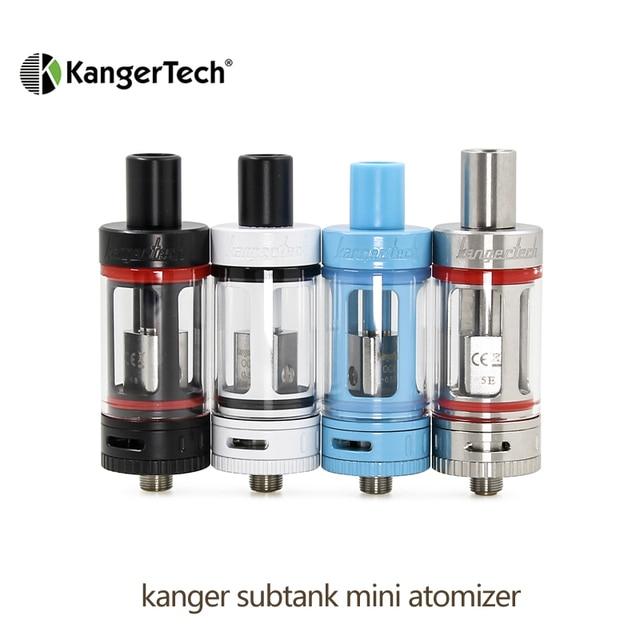 オリジナル kangertech kanger サブタンクミニ吸うタンクミニ occ コイル 4.5 ミリリットル Clearomizer E cig 吸うタンク RBA アトマイザー