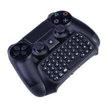 Mutilfunction 2 In 1 Bluetooth Mini Wireless Chatpad Bericht Toetsenbord Game Consoles Voor Sony Playstation 4 PS4 Controller