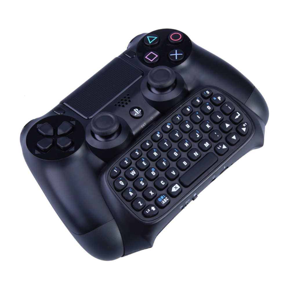 Mutilfunction 2 in 1 Bluetooth Mini Wireless Chatpad Message Keyboard Game Consoles for Sony Playstation 4 PS4 Controller