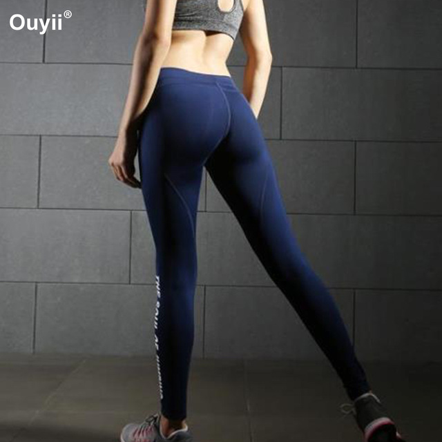 930845e24579b Push Up Hip Yoga Pants Women Compression Tights Sports Leggings Fitness  Running Sportswear Workout Gym Pants Female Trousers